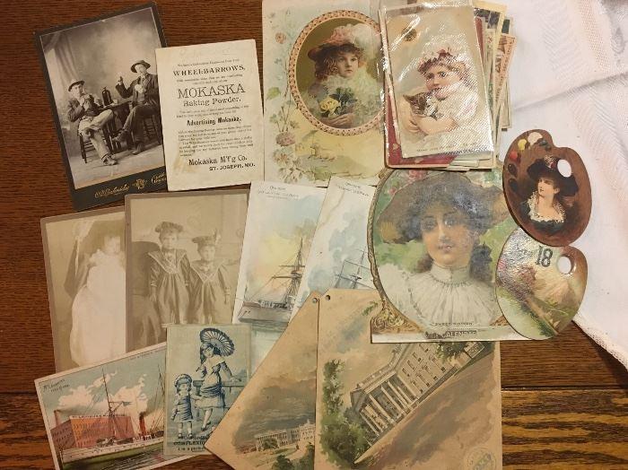 Postcards, Ephemeral, Old Photos