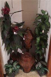 Baskets, Plant Decor