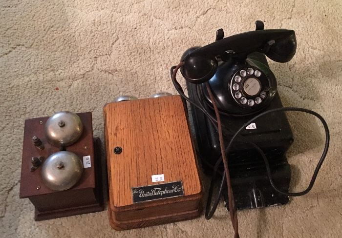 Western Electric & other Collectible Telephones - Princess & More Available
