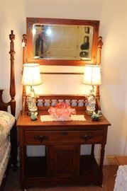 bedroom antique vanity