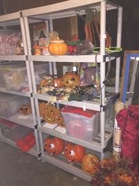 Tons of Vintage Halloween, easter and Christmas decar