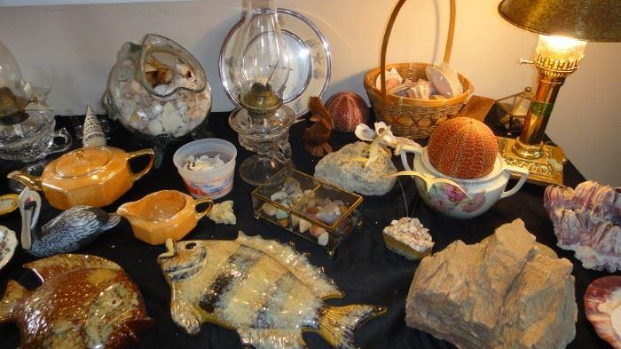 Sea Shells, Fish, Ocean, Decor