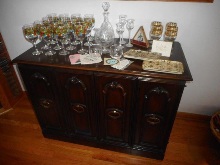 Mid Century Bar Ware