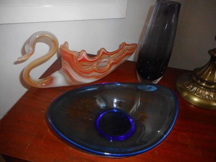 Mid Century Art Glass