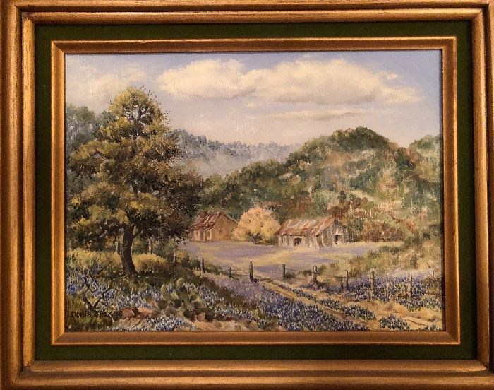 Original oil painting by Doris spears