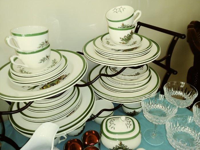 Spode dish set