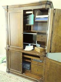 Bassett armoire desk