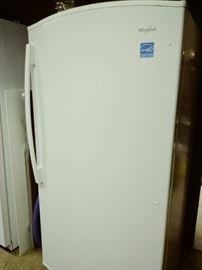 Whirpool upright freezer