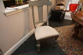 One of 6 dining chairs