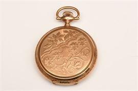 6. Elgin Gold Filled Hunting Case Pocket Watch