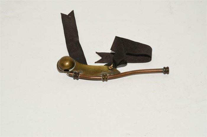 7. Brass Boatswain Whistle