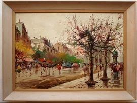 European scene painting