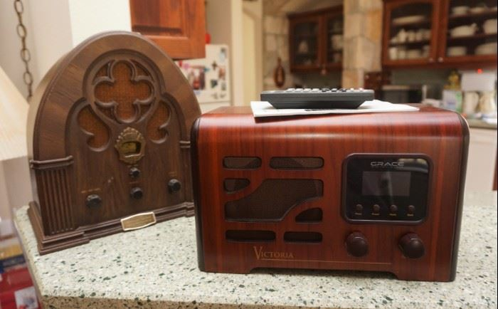 Reproduction radios