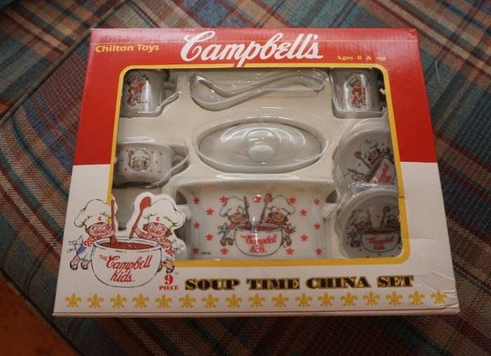 Campbell's Soup china set