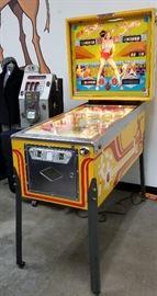 Full picture of Bally pinball machine