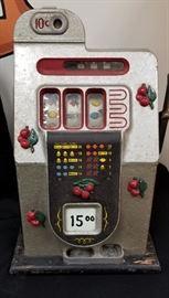 "1930s/40s Mills Novelty Co ""Black Cherry"" 10c slot machine"