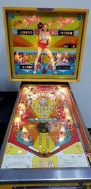 "1978 Bally Mfg ""Strikes and Spares"" pinball machine."