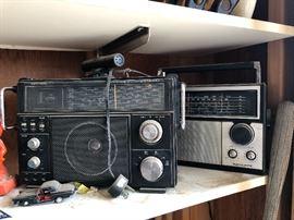 Vintage CB Police radios