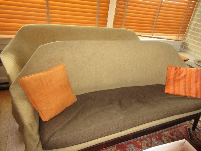 pair of MCM Danish couches by IB Kofod-Larson