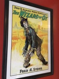 Wizard Of Oz Lithograph numbered $1200