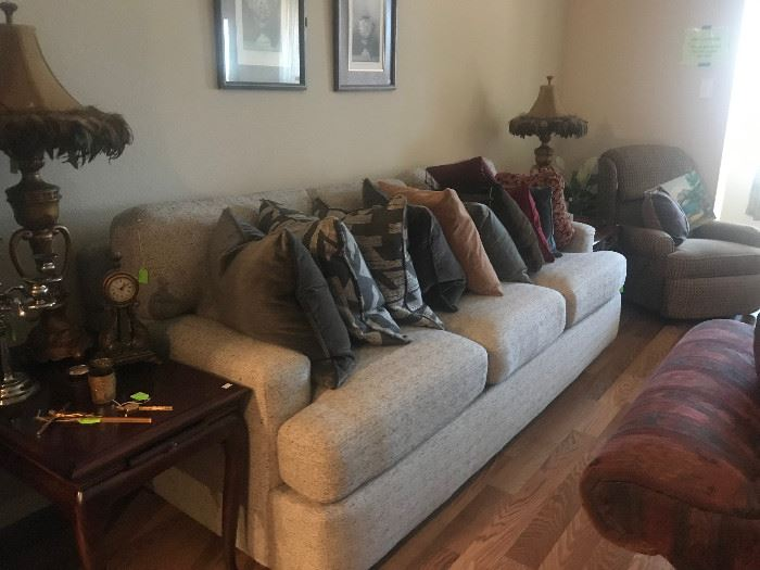 McKenzie Sofa, 94 inches, purchased 2018, mint condition