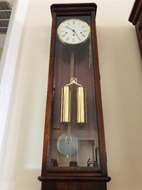 Howard Miller, Wall Clock, Keeps Time, Beautiful Chime with Key