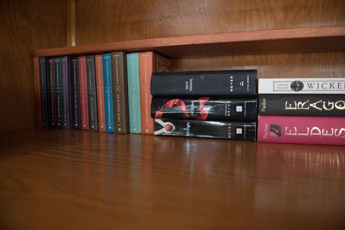 Assortment Of Books Including Twilight Series