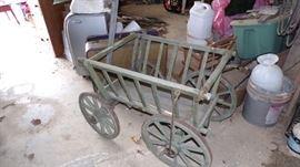 vintage Goat Wagon