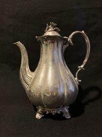 Joseph II & Albert Savory Sterling Coffee Pot