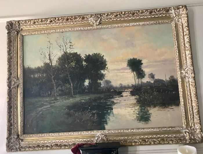 Original oil painting from Europe
