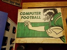 1950's computer football game