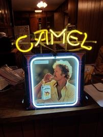 Neon light Camel Advertising in mint condition
