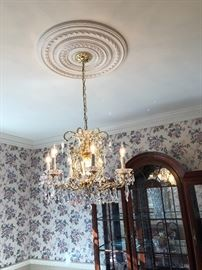 SCHONBEK  chandelier originally $2000
