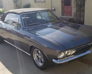 1966 corvair automatic 6 cylinder turbo all new wiring new tires engine has 27000 miles  tags up to date runs and drives great