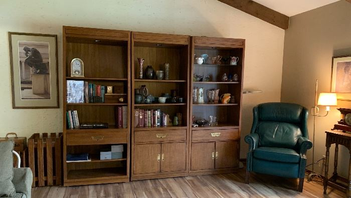 3 Piece Wall Unit Bookcases
