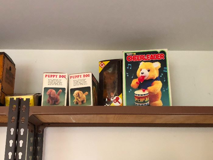 vintage and antique toys