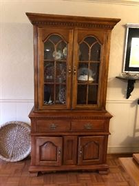 Chunky China Cabinet! You want this!