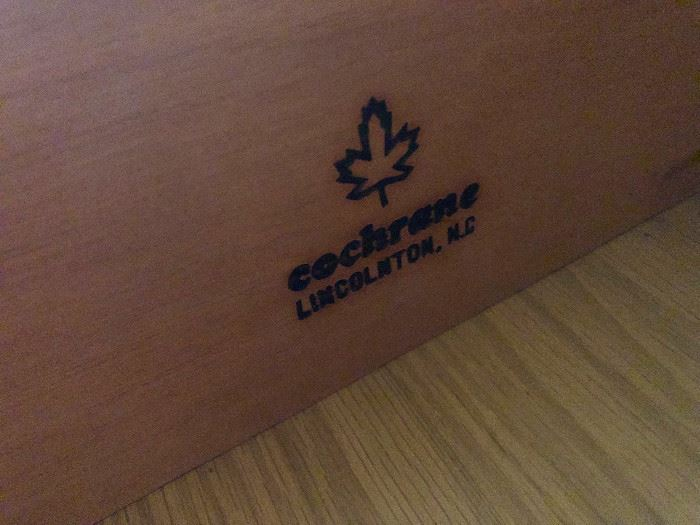 Cochrane maple furniture!