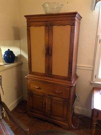 Antique pie cabinet!