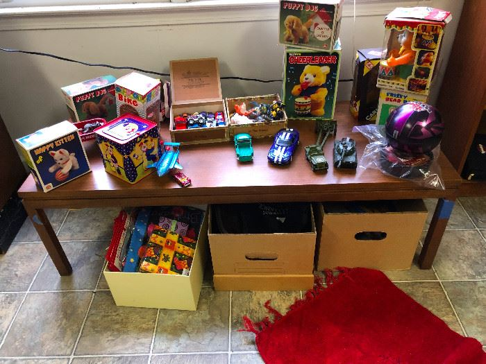 Antique and vintage toys!