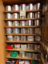 Rivits, concrete sinkers, deck nails AND MORE! All perfectly organized we love these people