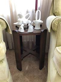 Mission Oak Side Table, Petite in Size....