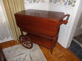 Pennsylvania House cherry tea cart