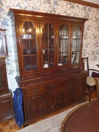 Jamestown Taylor cherry china cabinet - great condition