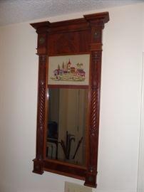 solid wood custom mirror