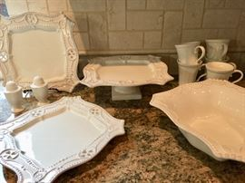 Great serving pieces