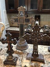 Assortment of crosses