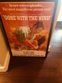 framed poster art