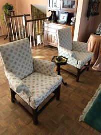 Two  Beautiful Baker Chairs!!