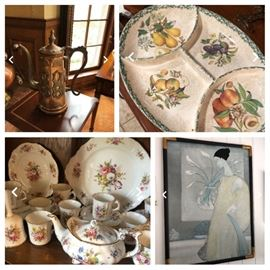 Gorgeous pottery and dishes